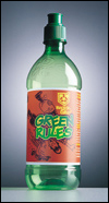 Green Bottle Label