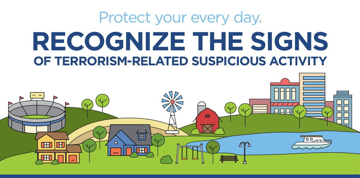 Know the signs of suspicious activity